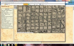 1935 Charlotte City Map Courtesy of the Robinson-Spangler Carolina Room of the Charlotte Mecklenburg Library.