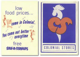 "Colonial Store ""Rooster Logo"" via rkpuma.com and Google Images"