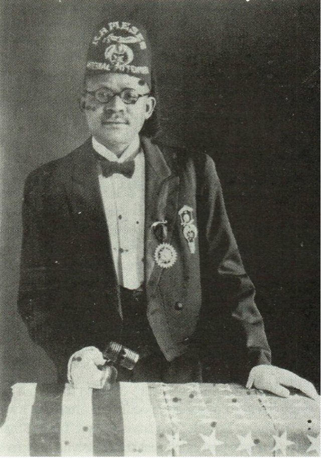 Ceasar R. Blake as Imperial Potentate.  Photo Courtesy of Willie Harris, Jr.