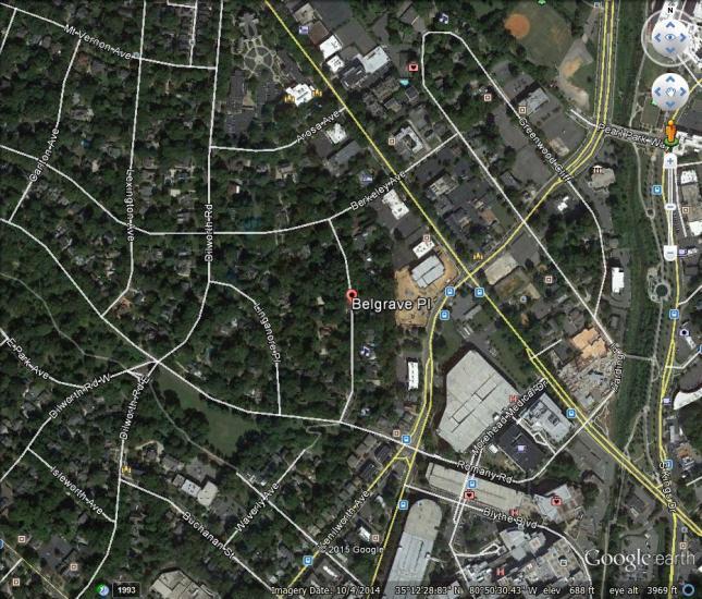 Belgrave Place_Google Earth