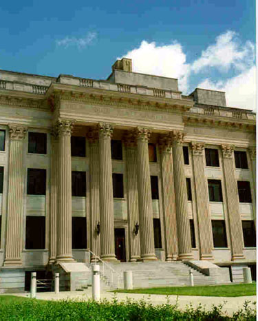 Mecklenburg County Courthouse.  Picture courtesy of the Charlotte Mecklenburg Historic Landmarks Commission via Google Images
