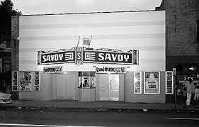The Savoy Theatre in the Brooklyn neighborhood,  date unknown.  Photo courtesy of the Charlotte Mecklenburg Historic Property Commission via Google Images.