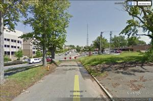 Cecil Street at Kings Drive 2015.  Image courtesy of Google Earth.