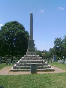 The Confederate Monument at Elmwood Cemetery. Photo taken by author.